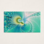 Something Fishy - Fractal Art Business Card