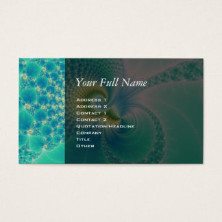 Something Fishy - Fractal Art Business Card