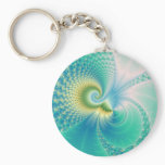 Something Fishy - Fractal Art Keychain