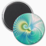 Something Fishy - Fractal Art Magnet
