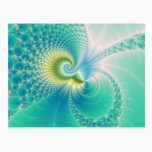 Something Fishy - Fractal Art Postcard