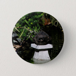 Something Fishy in the Garden Pinback Button