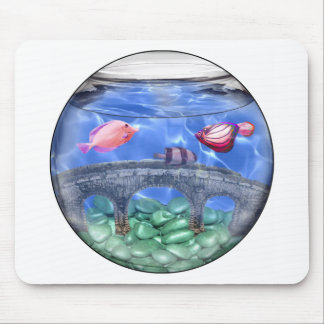 Something fishy! mouse pad