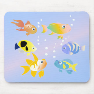 Something fishy mouse pad