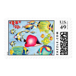 Something Fishy  Postage Stamp