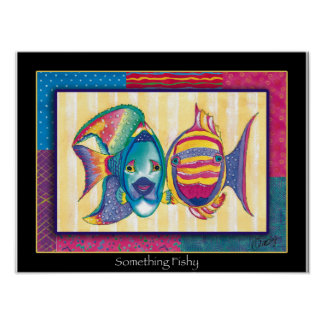 Something-Fishy-poster Poster