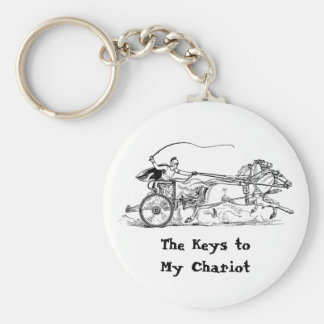 """Something for your """"Chariot"""" Keys! Keychain"""