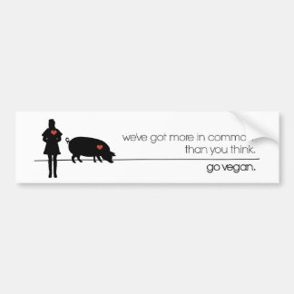Something In Common Bumper Stickers