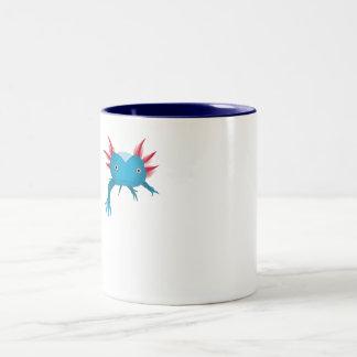 Something in my drink Two-Tone coffee mug