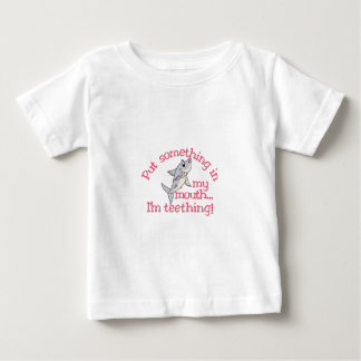 Something In My Mouth Baby T-Shirt