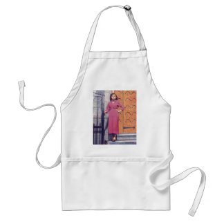 Something In Red: www.AriesArtist.com Adult Apron