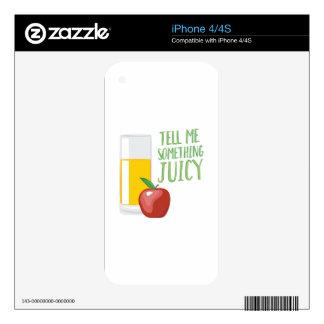 Something Juicy Skins For iPhone 4