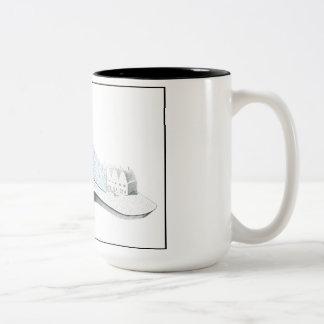 Something Might Turn Up.. Two-Tone Coffee Mug