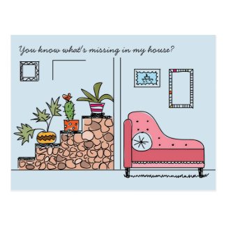 Something Missing in my House Postcard