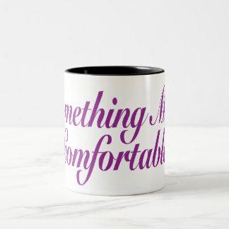 Something More Comfortable Two-Tone Coffee Mug