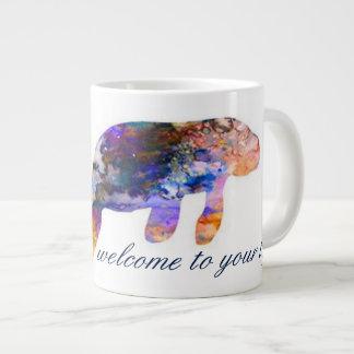 Something New Mug_Watercolor Manatee Giant Coffee Mug