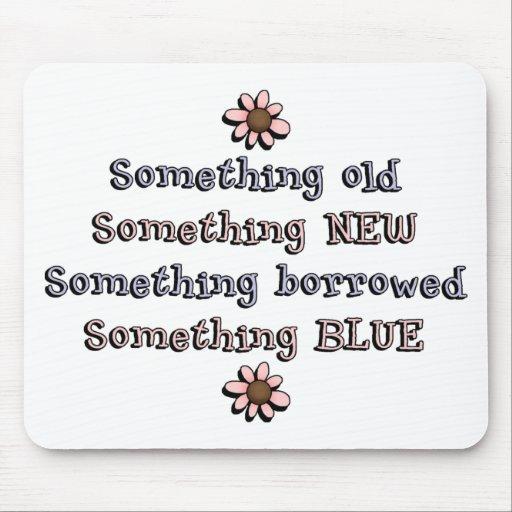 Something Old Something New Mouse Pad
