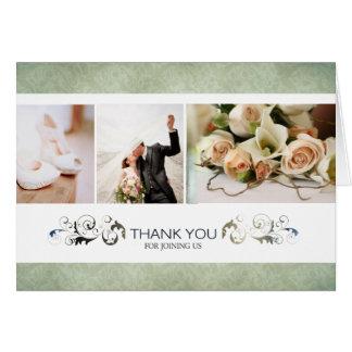 Something Olive Custom Wedding Thank You Cards