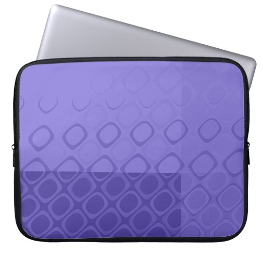 Something Purple - Bold Purple Abstract Computer Sleeve