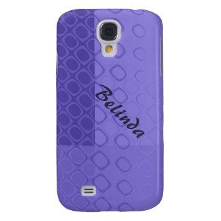 Something Purple - Bold Purple Abstract Galaxy S4 Case