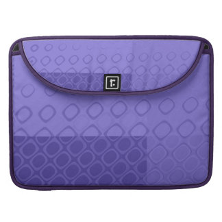 Something Purple - Bold Purple Abstract MacBook Pro Sleeve