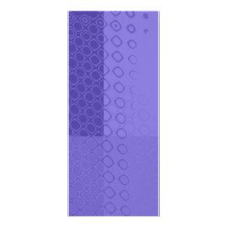 Something Purple - Bold Purple Abstract Rack Card