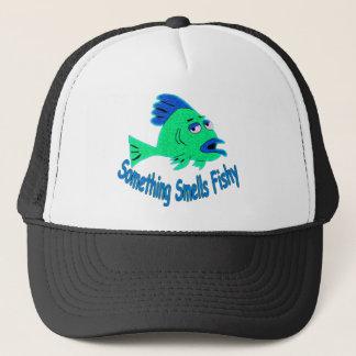 Something Smells Fishy Trucker Hat