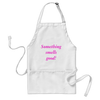Something smells good! adult apron