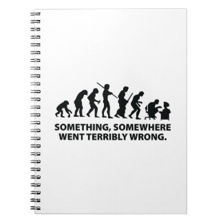 Something, Somewhere Went Terribly Wrong Notebook
