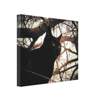 Something spooky, this way comes canvas print