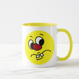 Something Stinky Smiley Face Grumpy Mug