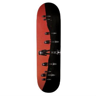 Something Strangely Familiar Skate Board