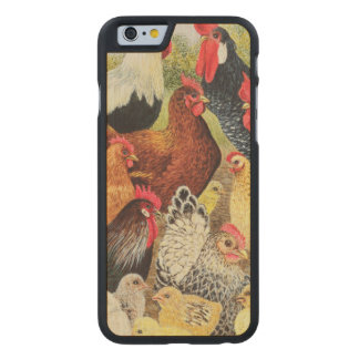 Something to Crow About Carved® Maple iPhone 6 Case