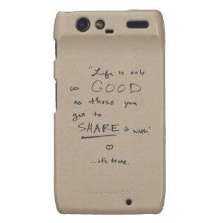 Something To Remember Motorola Droid RAZR Cases