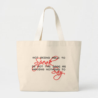 Something to Say copy Tote Bag