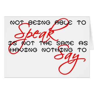 Something to Say copy Card