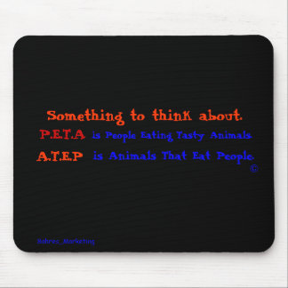 Something to think about (mouse pad) mouse pad