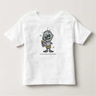 Something Undead in my Diaper Toddler T-Shirt