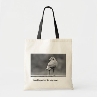 Something wicked . . . canvas bag
