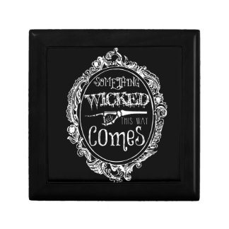 Something Wicked Jewelry Box