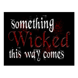Something Wicked Postcards
