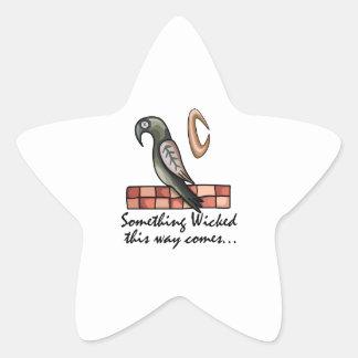 Something Wicked Star Sticker