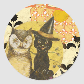 something-wicked round stickers