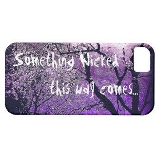 Something wicked this way comes iphone case iPhone 5 cases