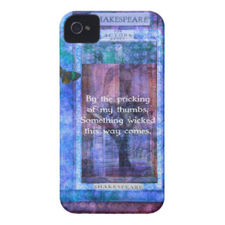 Something wicked this way comes Shakespeare quote iPhone 4 Case-Mate Case