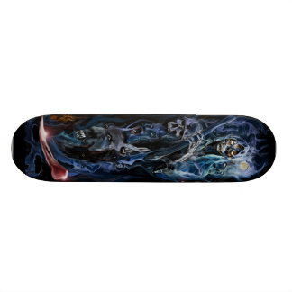 SOMETHING WICKED THIS WAY COMES ! SKATEBOARD DECK