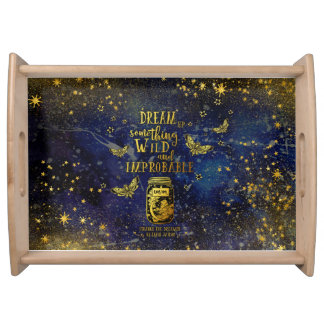Something Wild and Improbable Serving Tray