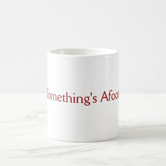 Something's Afoot! Mug