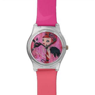 Something's Awry Wrist Watch