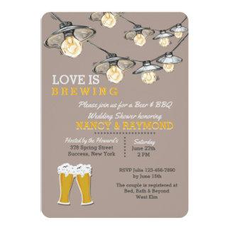 Something's Brewing 2 Wedding Shower Invitation